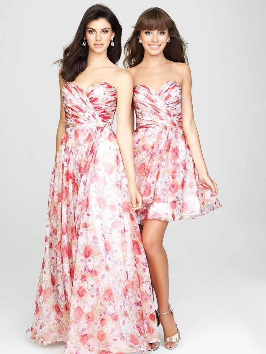All about the bridesmaids savvy bridal best floral bridesmaid dresses new in evening dresses ombrellifo Image collections