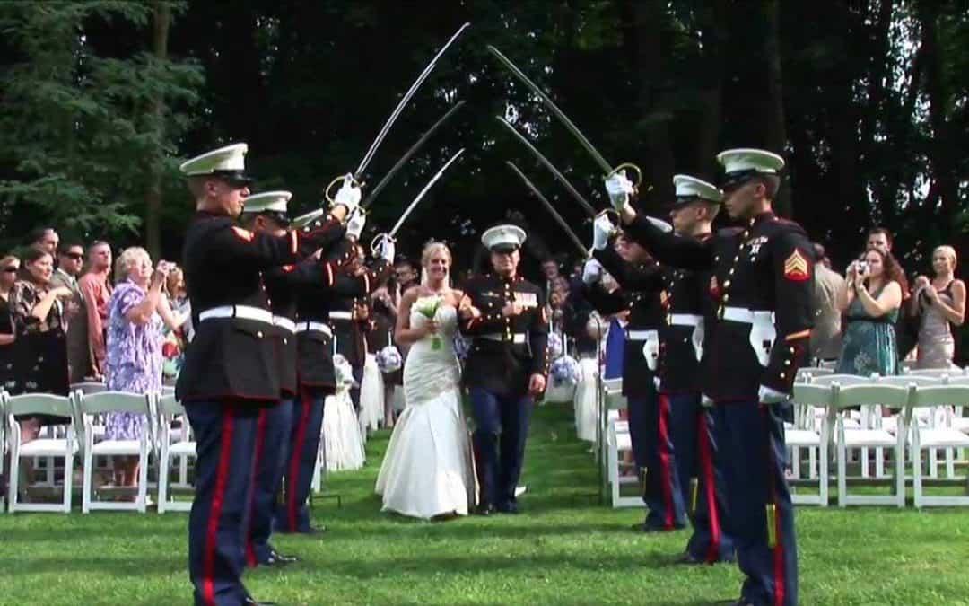 Military Wedding Inspiration