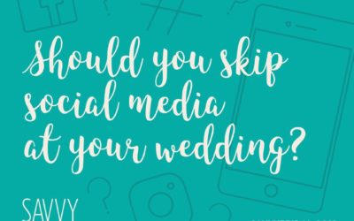 Should You Skip Social Media at Your Wedding?