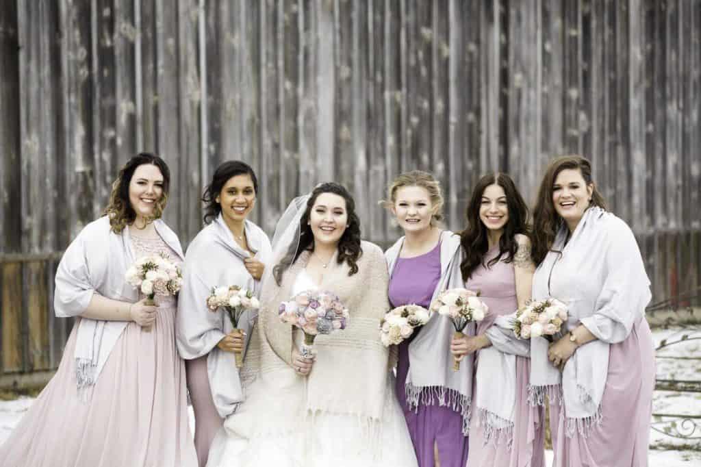 bride-with-bride-tribe