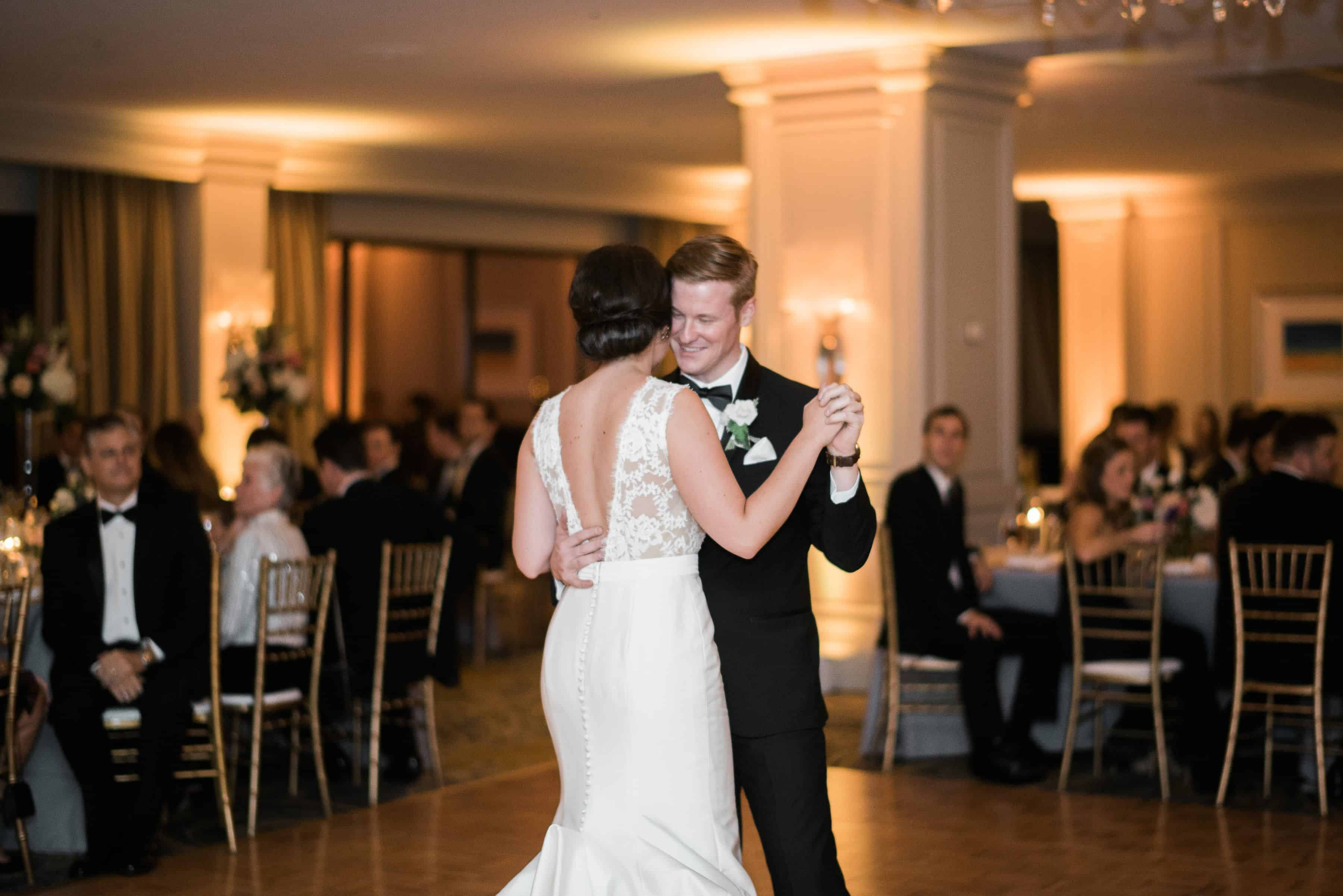Bride and groom dancing to the music provided by Vendor Elite Sounds Entertainment