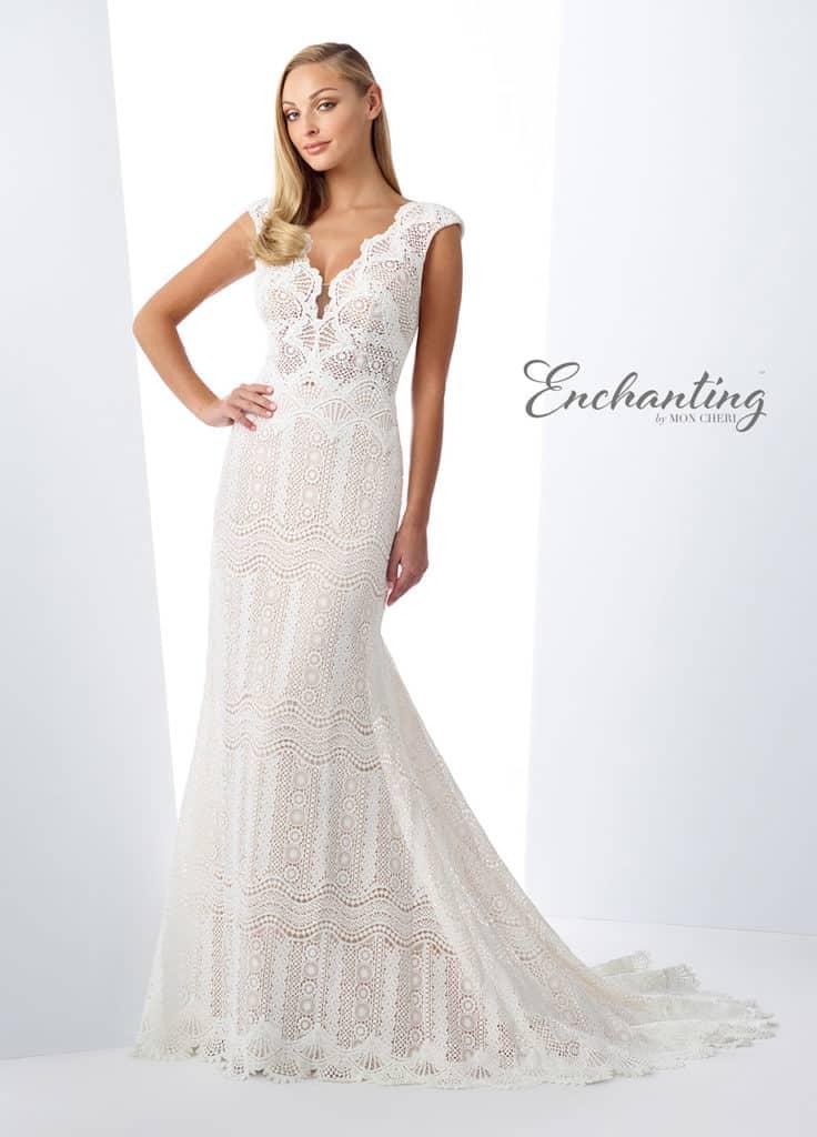 Enchanting-Lace-Short-Sleeved-Dress