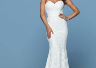 Strapless-Mermaid-Gown