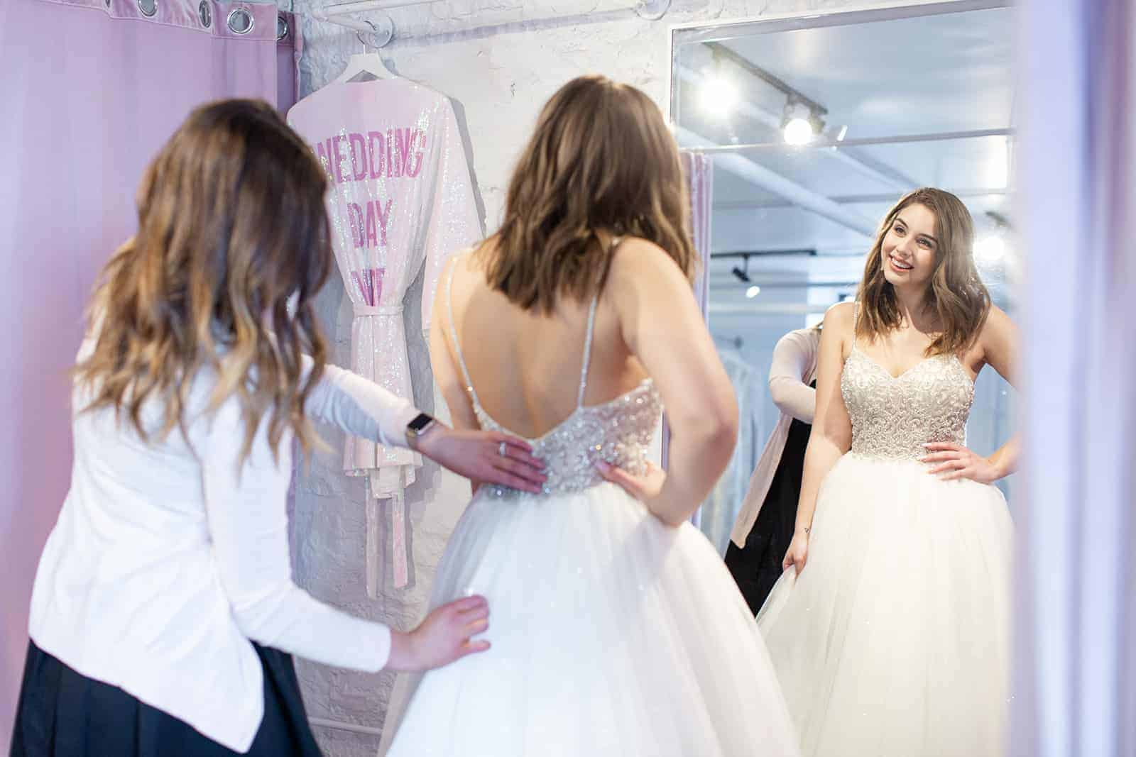 savvy bridal shopping experience
