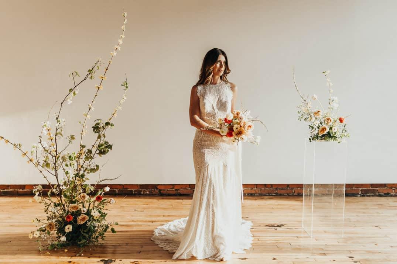 Floral-bride