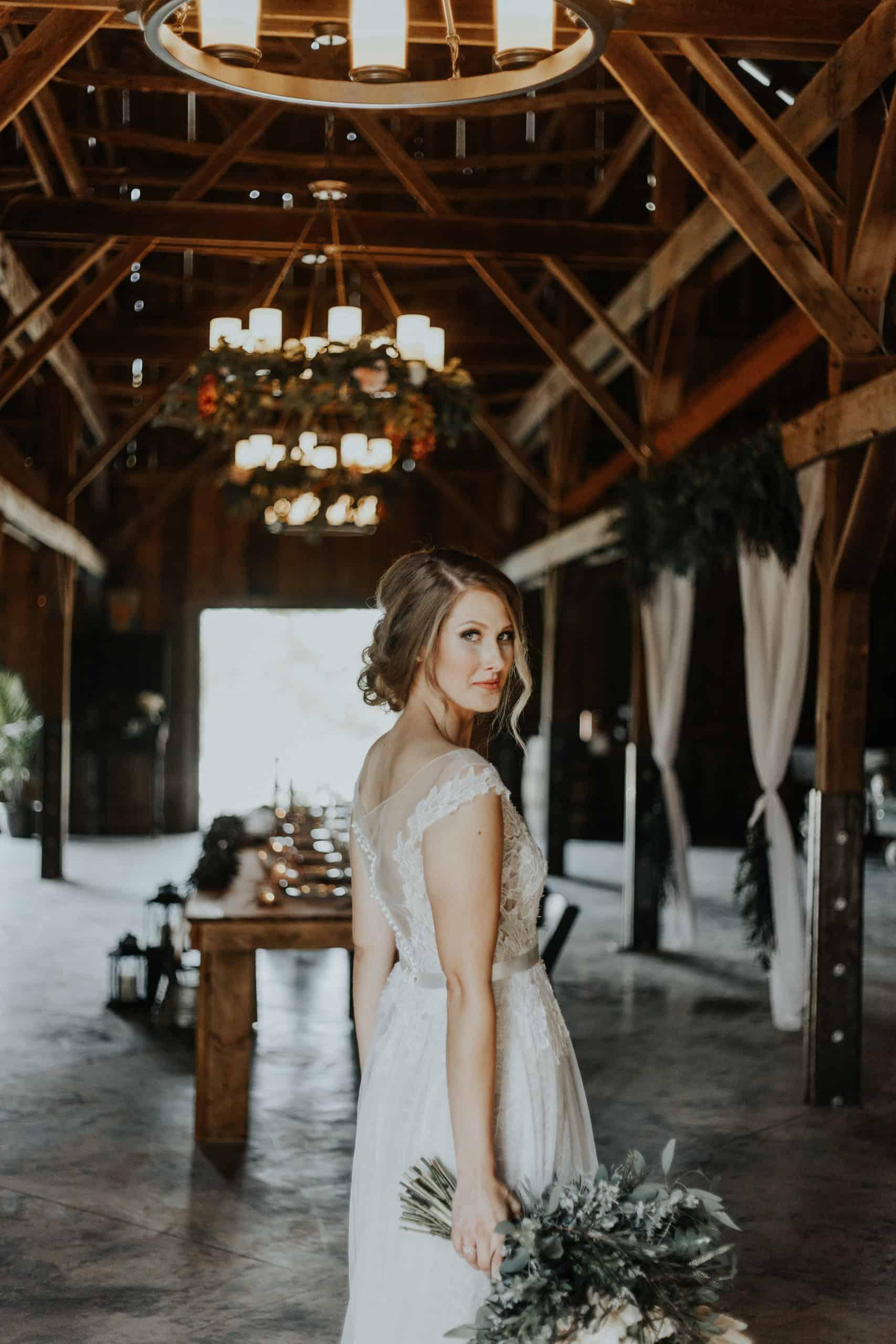 off-the-rack-dress-at-savvy-bridal-worn-at-tobacco-barn-wedding-venue-in-kansas-city