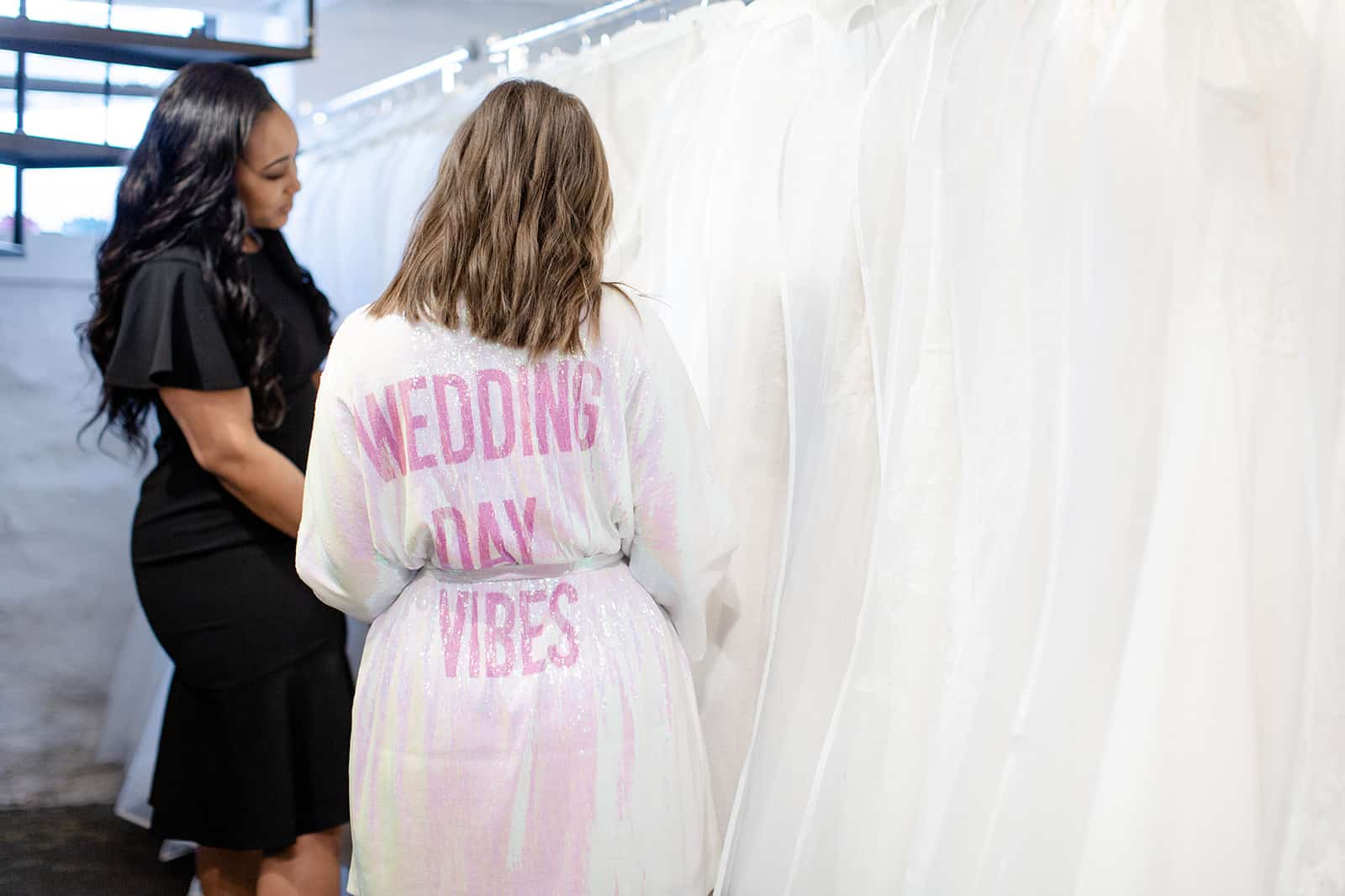 Savvy Team bridal closet