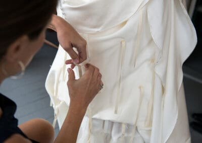 Everything You Need to Know About Wedding Dress Bustles