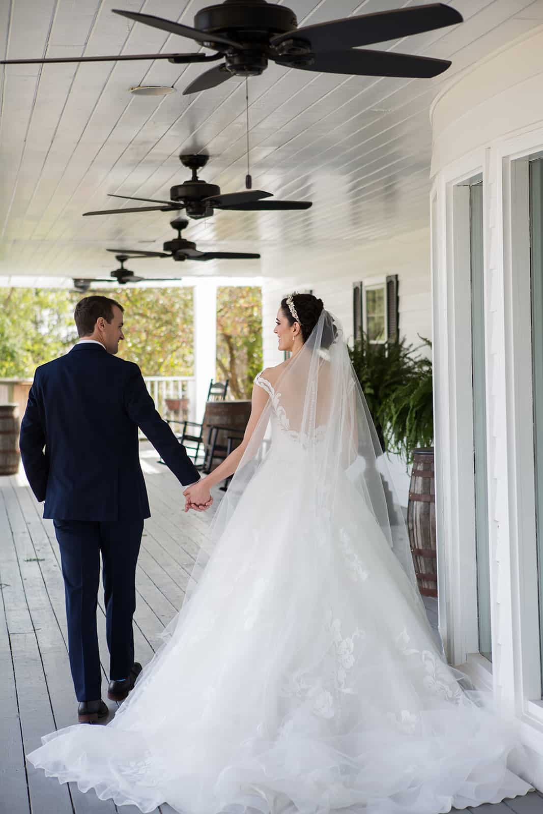 Wrap Around Porch Wedding