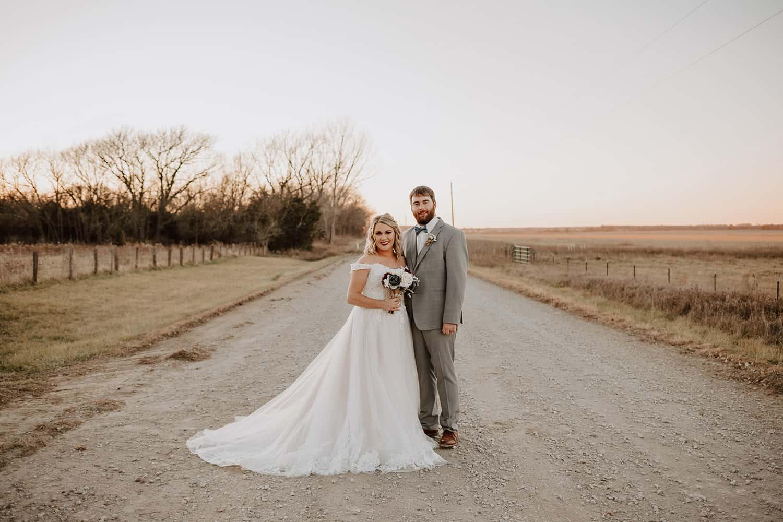 December Wedding Outdoors