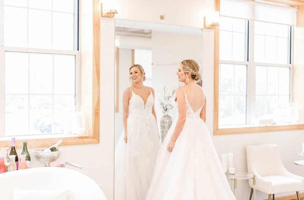 What Do I Do If My Wedding Dress Doesn't Fit the Day of My Wedding?