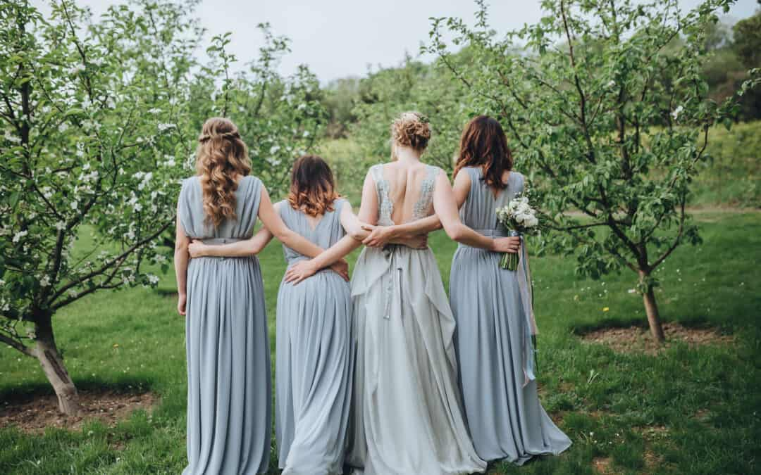 Colored Wedding Dresses for the Non-Traditional Bride